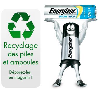 piles (recyclage et vente)